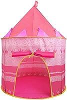 Jasonwell Casa de campaña con diseño de Castillo para niños niñas Tiendas de campaña Transpirable para Guardar Juguetes...