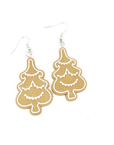 Tannenbaum Keks Ohrringe Weihnachtsbaum Ohrhänger