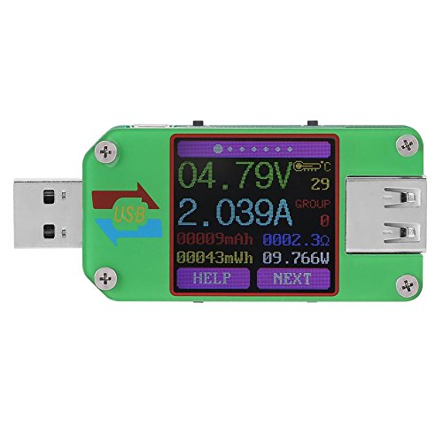 Amazon.com - UM24 or UM24C USB Voltage Current Power Meter/Tester