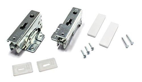 Charniere (kit de 2) de Porte pour Réfrigérateur WHIRLPOOL