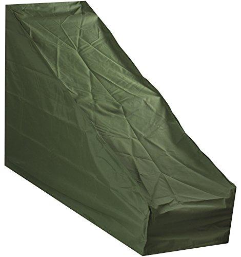 Woodside - Abdeckungen für Rasenmäher in Grün, Größe Länge: 170cmxBreite: 60cmxHöhe: 30-110cm