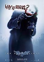 Batman The Dark Knight Movie Poster Approx. 35.4 x 23.6 inches (90 x 60 cm), Joker The Dark Knight unframed