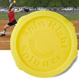 Spin Right Softball Spinner Fastpitch for Pitcher Overhand Thrower Training Aid Equipment, Perfect for Pitching & Throwing, Used at Top Collegiate Programs, 1 Pack