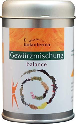 Kokoderma Gewürzmischung Balance | Organische Salz-Kräuter Kombination direkt aus dem Schwarzwald | Kokoderma – Gourmet Gewürzmischung | vegan, laktosefrei, ohne Glutamat | 180g