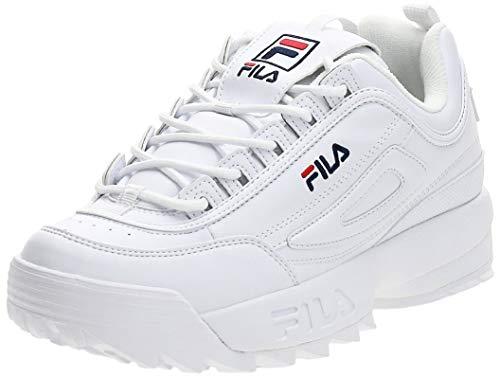 FILA Disruptor men zapatilla Hombre, blanco (White), 44 EU