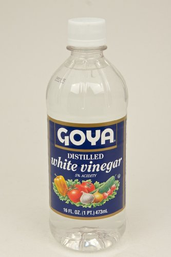 Goya White Vinegar - Distilled, 16 Ounce