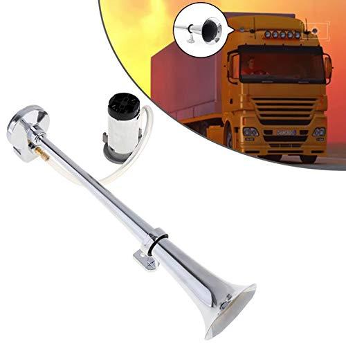 Mago Auto-claxon, 150 dB, luchtlucht, Singola claxon, compressor, luidspreker, auto, geschikt voor auto, vrachtwagen, navigatie, verschillende apparaten met spanning 12 V