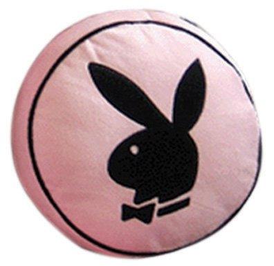 Zap Playboy cojín Redondo, Rosa