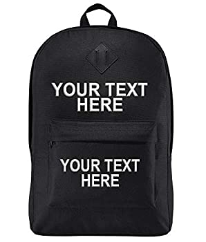 Personalized Custom School Backpack Girls Boys - Add Your Name  15  Laptops