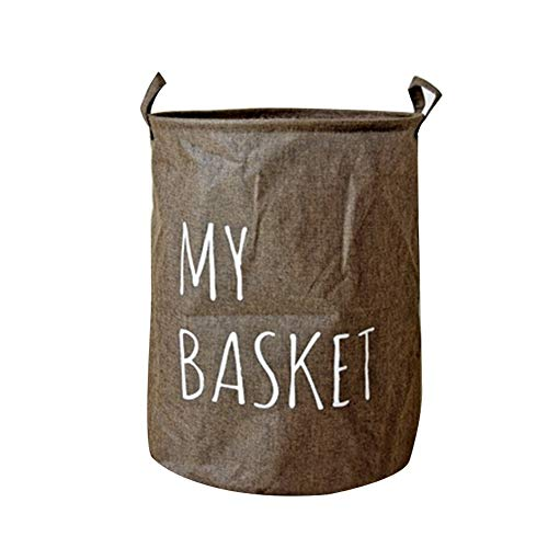 YASSUN Cesta sucia, cesta plegable para la colada, cesta de almacenamiento para ropa sucia, cesta plegable para la colada como organizador para ahorrar espacio...