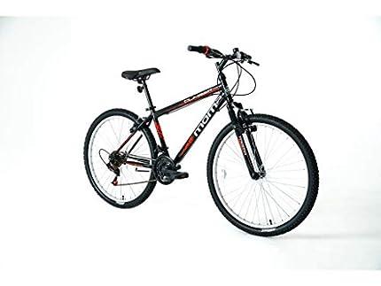 Moma Bikes Bicicleta Montaña MTB 26'' CLIMBER, 21vel, frenos V-Brake, llantas de aluminio