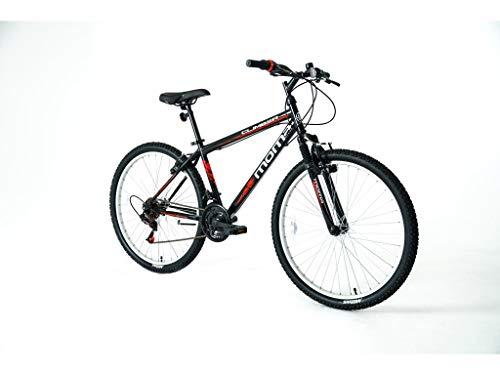 Moma Bikes Bicicleta Montaña MTB26 CLIMBER, 21vel, frenos V-Brake, llantas de aluminio,...