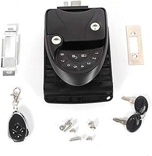 $112 » RV Keyless Entry Door Lock Caravan Lock Latch Handle Knob Deadbolt Camper Trailer Black