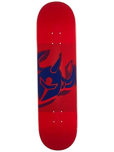 Darkstar Skateboard-Brett / Deck, 21 cm, Rot