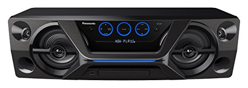 Panasonic SC-UA3E-K 300W Negro sistema de audio para el hogar - Microcadena (Negro, 300 W, 13 cm, 4 cm, FM, CD,CD-R,CD-RW)