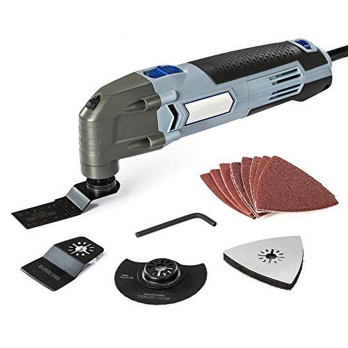 Oscillating Tool 220V Electric Trimmer Saw for Wood Working 300W Power Home...