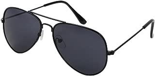 Classic Kids Aviator Sunglasses Reflective Metal Frame...