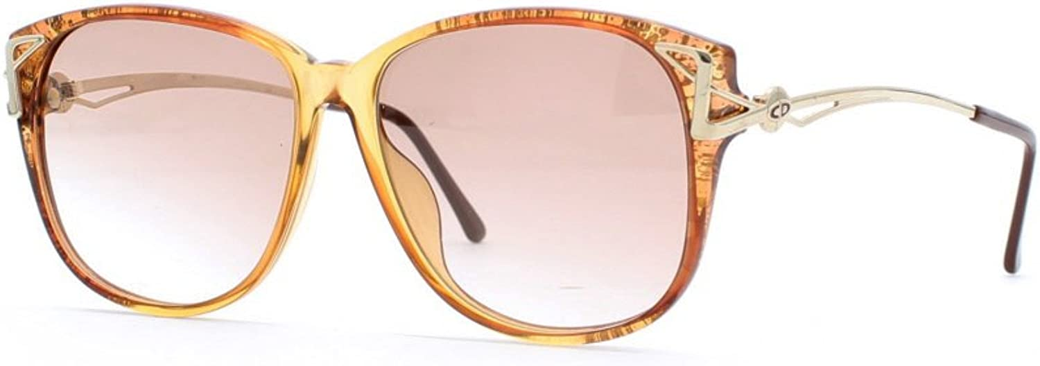 Christian Dior 2545 30 Brown Authentic Women Vintage Sunglasses