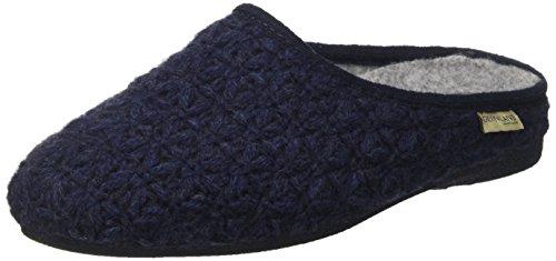 GRÜNLAND Damen CI0249 Pantoffeln, Blau Blu, 39 EU