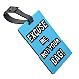 Moent Gepäckanhänger Gepäckanhänger Etiketten Koffertasche Gepäckname Adresse ID Reise-Tag-Kartenetui Home DIY