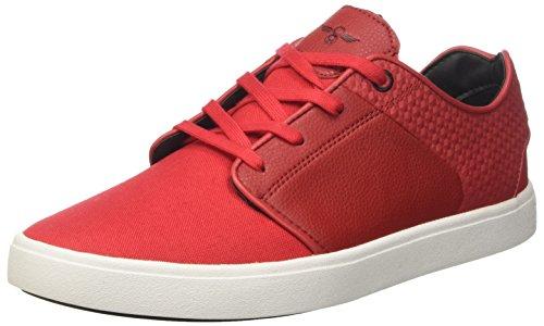 Creative Recreation Santos, Sneaker a Collo Basso Uomo, Rosso, 45 EU (10.5 UK)