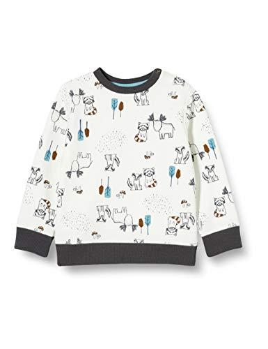 Sanetta Baby-Jungen Ivory Sweatshirt, beige, 074