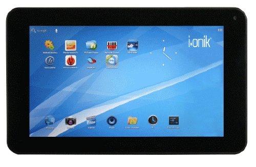 i.onik TP7-1000DC 17,8 cm (7 Zoll) Tablet-PC (ARM Cortex A5, 1GHz, 1GB RAM, 8GB interne Speicher, Android 4.0, USB 2.0) dunkelgrau