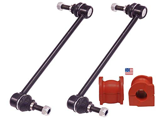 Suspension Dudes 4PC Front Sway Bar Links + Front Bushings FITS 2001-2013 Acura MDX / 2003-2013 Honda Pilot K90349