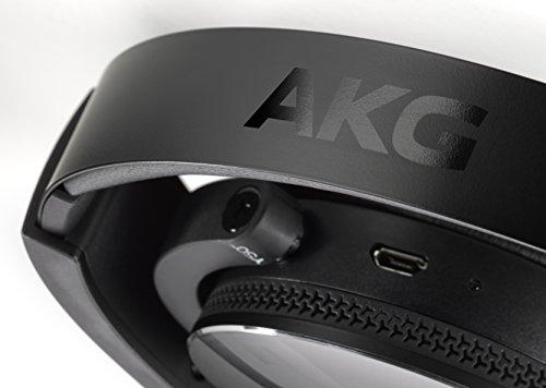 AKG Y50BT - Auriculares de Diadema Cerrados (Bluetooth, Micro USB, 113 dB SPL/V, 3.5 mm), Color Negro