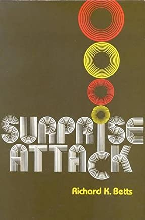 Surprise Attack: Lessons for Defense Planning by Richard Betts (1983-01-01)