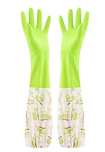 Des gants imperméables Velvet Worm Gants de nettoyage de la vaisselle -07