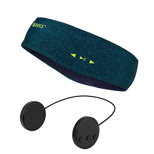 Blueear Diadema de audio bluetooth V4.2 con auriculares inalámbricos (8 horas) con función de llamada adecuada para deportes al aire libre - Talla única - Verde oscuro