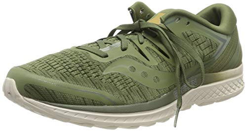 Saucony Men's Guide ISO 2 Running Shoe, Olive Shade, 10