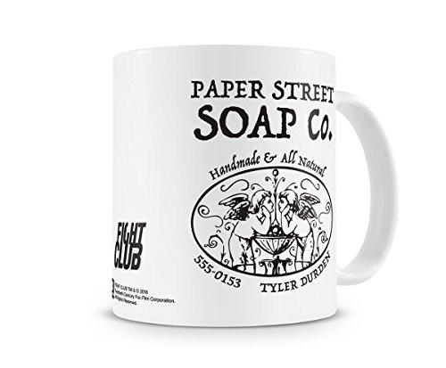 Oficialmente Licenciado Fight Club - Paper Street Soap Company Taza cerámica de café