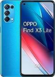 Oppo Find X3 Lite 8/128GB Smartphone astral blue Dual-Sim ColorOS 11.1 5988313