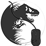 Mouse Pad for Computers,Gaming Mouse-Pads Office for Laptop Mouse Mat for PC Non Slip Mice Pad Jurassic Park Dinosaurs in Grass 2T1664