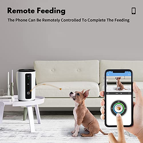WOPET Smart Dog Treat Dispenser Camera