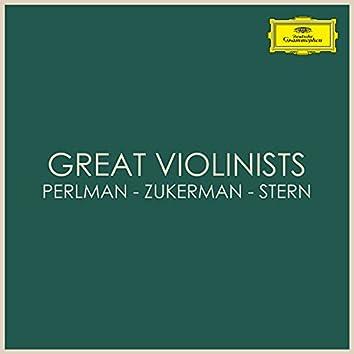Great Violinists: Perlman - Zukerman - Stern
