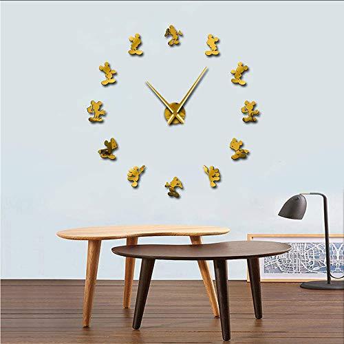 ❤ tipo: reloj de pared, tipo de pantalla: aguja, cuarzo, material de reloj: acrílico ❤ El nuevo reloj de pared de vinilo vinilo está hecho de vinilo y viene con espuma EVA de alta calidad y espejos acrílicos. ❤ Respetuoso con el medio ambiente, no tó...