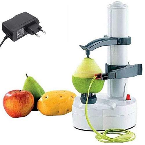 TGXL Pelador Eléctrico, Pelador Eléctrico Multifuncional Automático De Acero Inoxidable para Frutas...