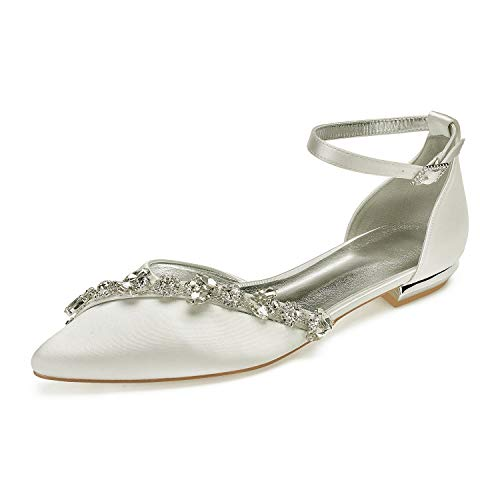 Top 10 best selling list for crystal wedding shoes flat