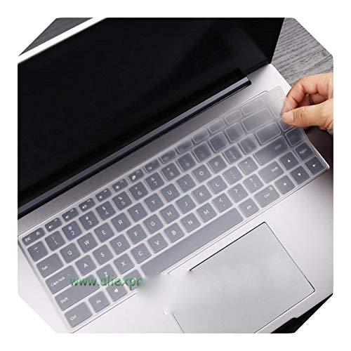 Preisvergleich Produktbild Silikon-Tastaturschutz für Xiaomi RedmiBook 16 Laptop AMD Ryzen 4700U 4500U Redmi Book 16, 1 Zoll 2020 Notebook - Crystal