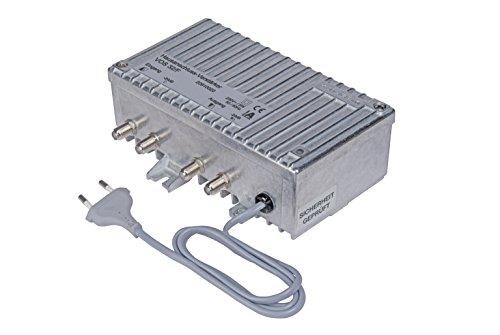 Kathrein VOS 32/F Hausanschluss-Verstärker (26/32 dB, 47-862 MHz, Prüfbuchse, regelbar, für Kabelfernsehen)