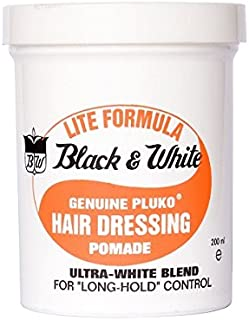 Black And White Pluko Lite Pomade 200 ml by Black and White
