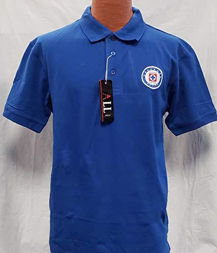 New! La Maquina de Cruz Azul Generica Polo Shirt Adult Size 2XL