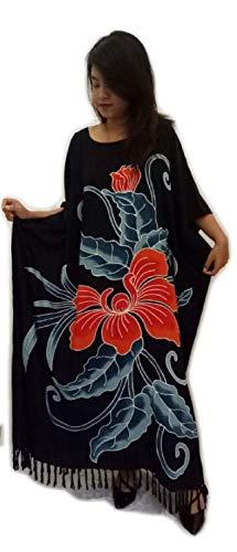 Cool Kaftans - Neu Erstaunlicher Orchideen Blumen Kaftan Kleid Weich