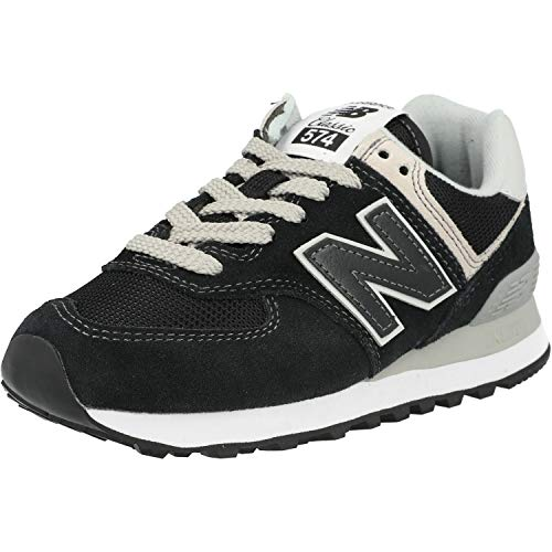 New Balance Damen 574v2 Core Sneaker, Schwarz (Black), 40 EU