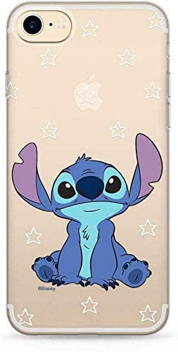 Original and Officially Licensed Disney Lilo and Stitch Mobile Phone case for iPhone 7, iPhone 8, iPhone SE2, case, Cover Made of Plastic TPU ...