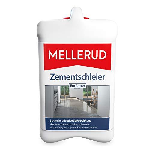 Mellerud Zementschleier Entferner – Effizientes Reinigungsmittel gegen Zementschleier, Zementreste und viele weitere Verschmutzungen – 1 x 2,5 l