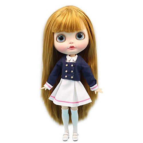 Entzückende PU Leder Stiefel Rainshoes Outfit für 12 Zoll Blythe Pullip